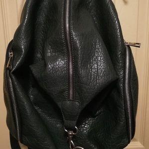 Forever 21 hobo bag,dark green.